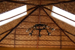 Reed Mat Roof