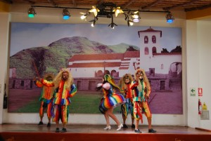 Show of Traditional Cuzco Daces