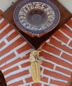 Corn and Good Fortune on the Wall