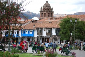 Tourists Find Meaning in Cuzco