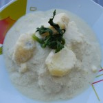 A Cuzco Favorite, Tarwi with Potatoes and Rice