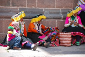 Taking a Break close to the Catedral After the Tour