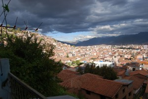 Sunlight in Cuzco