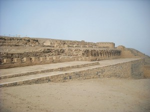 Temple of the Sun at Pachacamac