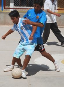 Young Men Battle Today in Cuzco