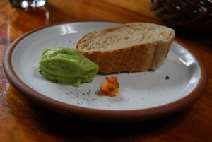 Bread, Avocado and Chili