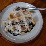 Waffle with Carop Syrup