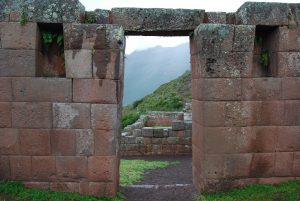 Doorway in the Archeological Center