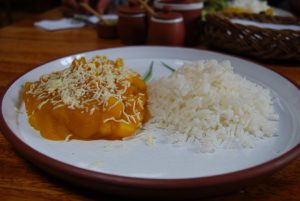 Locro and Rice