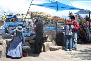 Miniatures for Sale on Lake Titicaca