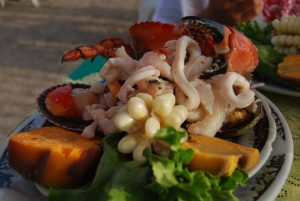 Ceviche with Shell Fish