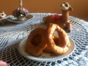 Picarones on The Table and Ready to Eat