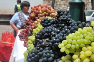 Mounds of Grapes for Sale