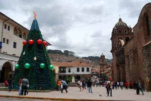 Christmas Tree on Plazoleta Espinar