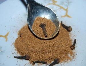Ground Cinnamon and Whole Cloves