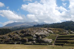Terracing and walls at Sacsayhuaman