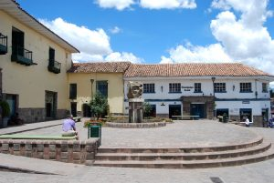 Plaza of Rimacpampa Chica