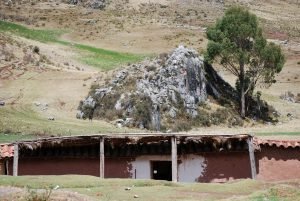 A Home in Cuzco Built Next to a Huaca