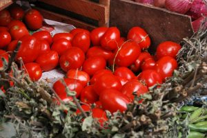 A Box of Tomatoes for Sale