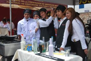 Students from Khipu Institute