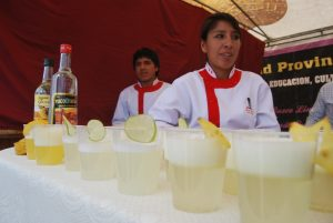 Pisco Sours Ready to be Served
