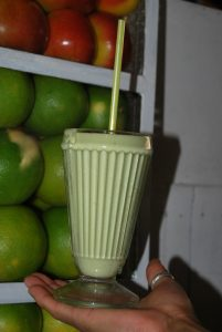 Avocado Juice Made at San Pedro Market