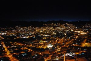 Cuzco City by Night