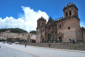Cuzco's Cathedral Set above the Plaza
