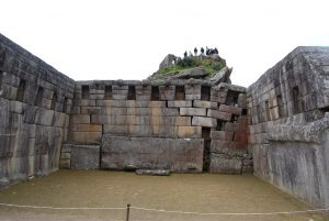 Temple and Threatening Damage in Machu PIcchu