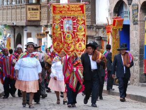 A Rural Confraternity Enters Cuzco