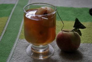 Stewed Peaches, One of the 12 Traditional Dishes for Holy Week