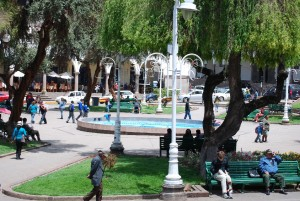 The Delightful Plaza de Regocijo