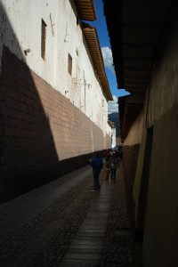 Sun and Shadow in Contemporary Cuzco