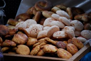 Maicillos and Rosquillas (Corn Cookies and Little Crowns)