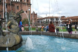 The Plaza de Armas and its Fountain