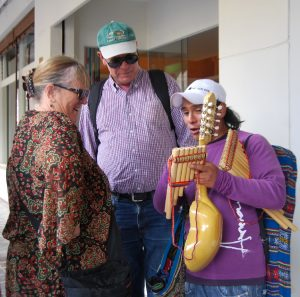 Showing the Andean Instruments
