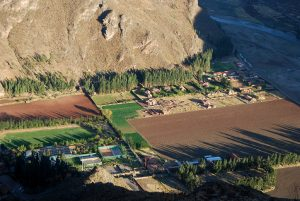 River Valley and Fields of Pisac