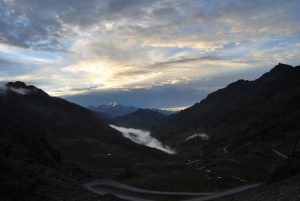 Panorama from the Pass