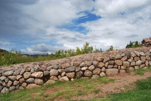 A Stone Wall by the Side of the Inca's Great Highway