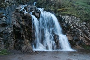 A Waterfall by the Way to Lares