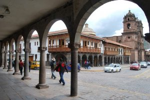 Cuzco's Enchanting Colonnades