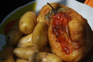 Stuffed Rocoto Pepper with Potatoes