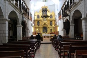 The Altar of the Main Chapel of Huanca