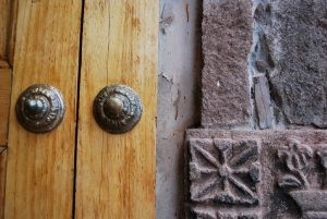 Detail of a Door in Huanca