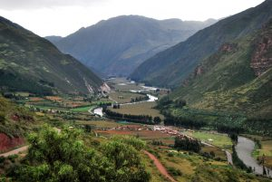 The Sacred Valley Seen from Huanca