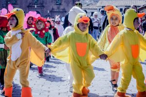 Little ducks brighten the bright streets of Cuzco (Photo: Alonzo Riley)