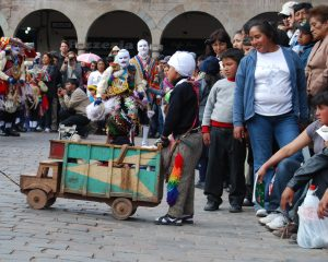 Small Pablito Performing in Cuzco's Feast
