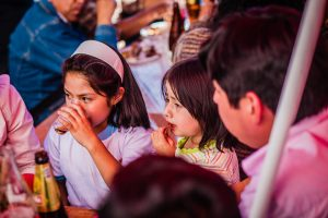 Eating at the Chiriuchu Festival (Photo: Alonzo Riley)