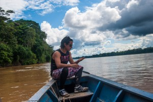 Travelling the Madre de Dios River to Amazon Planet Ecologe