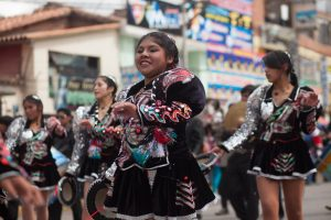 Dancing Caporales in Cuzco, Another Altiplano Dance (Photo: Alonzo Riley)
